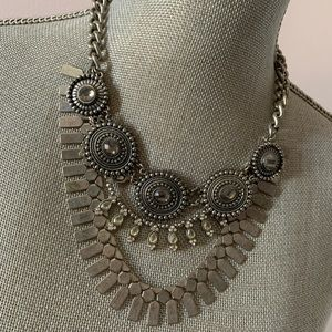 Aldo Gunmetal Necklace